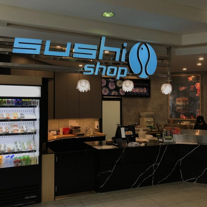 New Sushi Shop Boutique in North American Centre