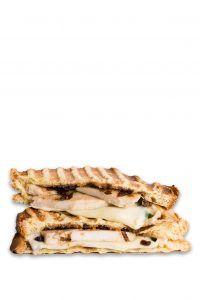 Grilled Cheese Chicken-Caramelized-Onions