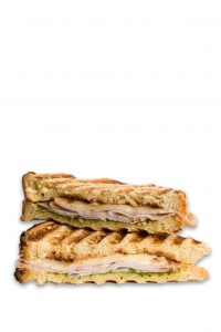 Grilled Cheese Cranberry-Pesto