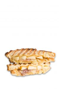 Grilled Cheese Pear-Prosciutto